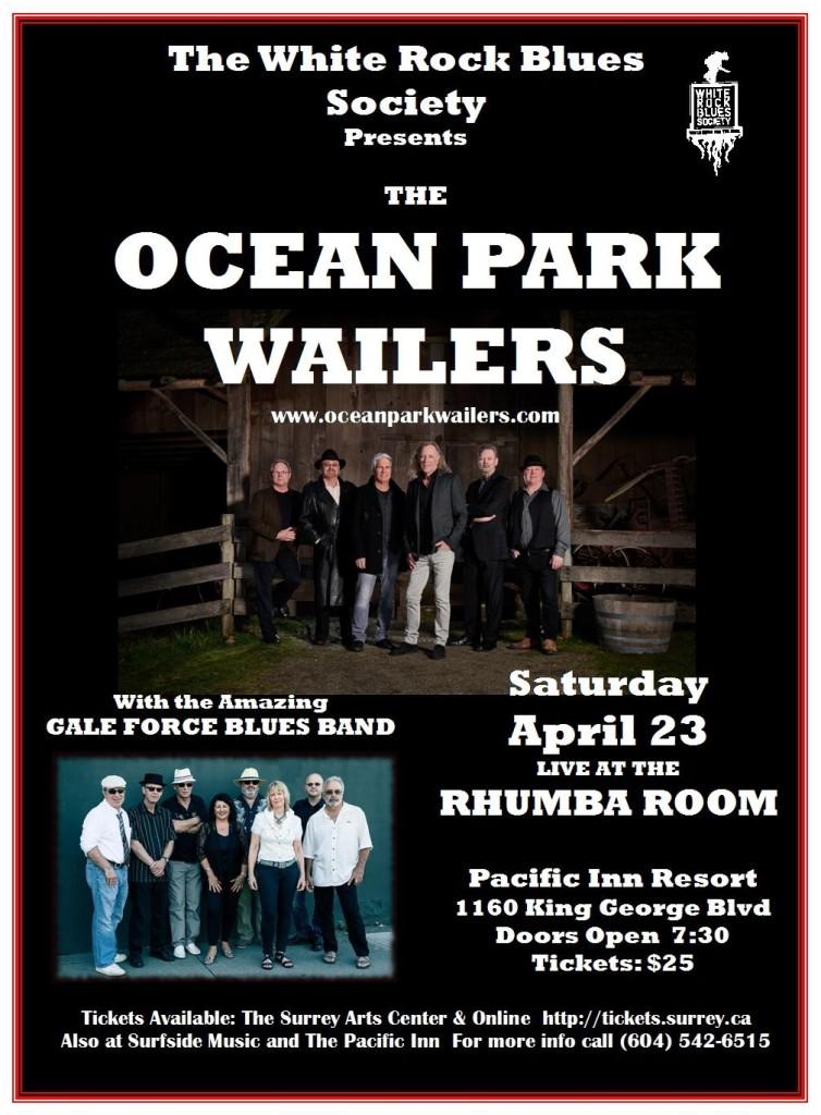 OP Wailers Apr 23 poster